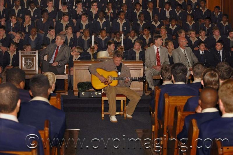 Jason Hartman at St Stithians Boy's College
