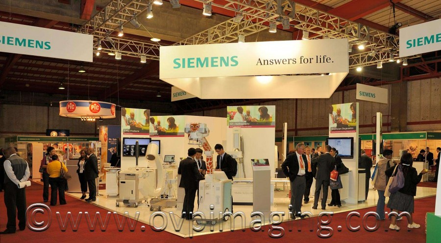 Siemens stand at Africa Health Expo