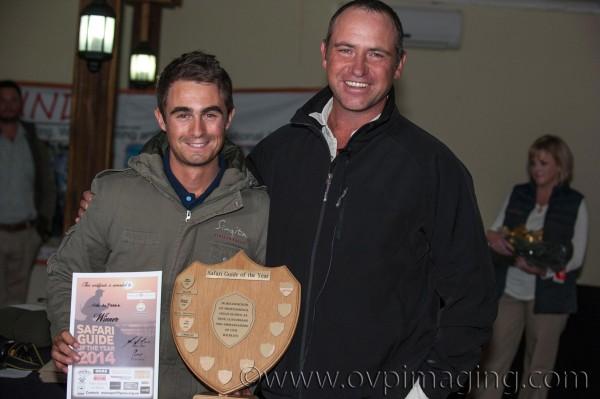 Safari Guide of the Year winners, Nick du Plessis & Tom Imrie