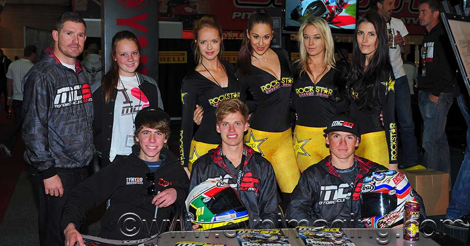Top SA Motorcycle Racers with Promo Ladies