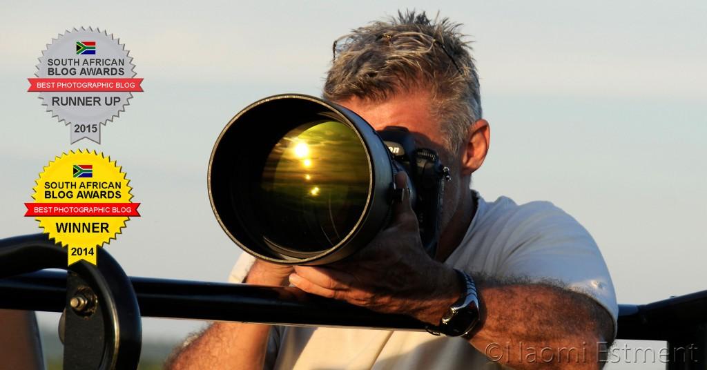 Dave Estment with Nikon Camera