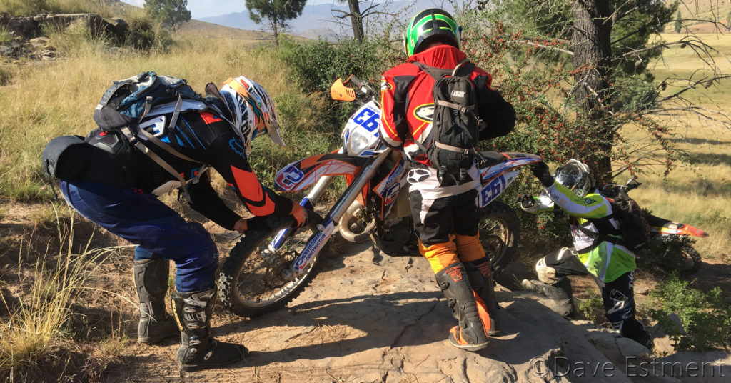 Enduro Motorcycle Riders photographed by Dave Estment