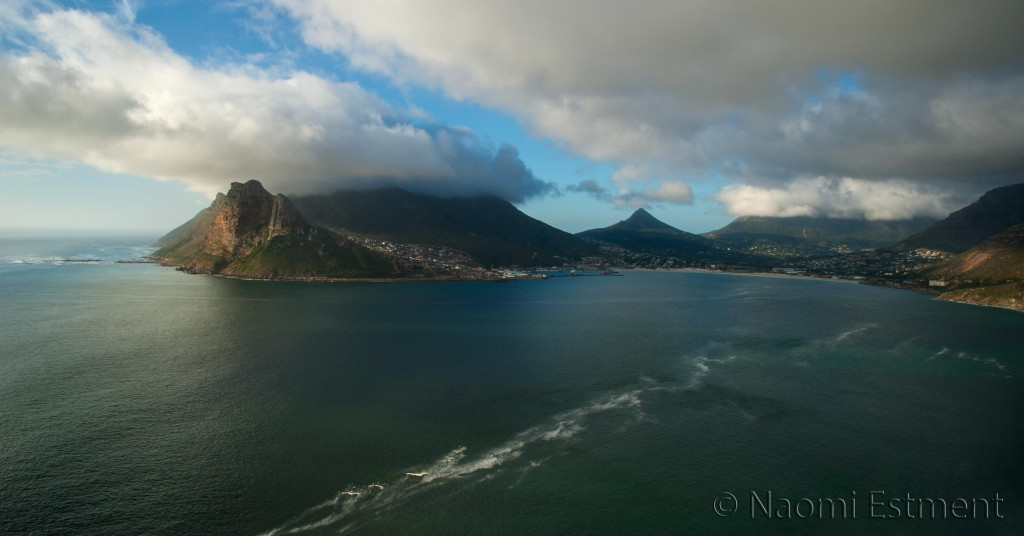 Hout Bay, Cape Town, from Chapman's Peak