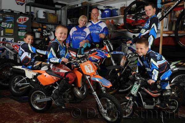 Family Photo for Enduro World