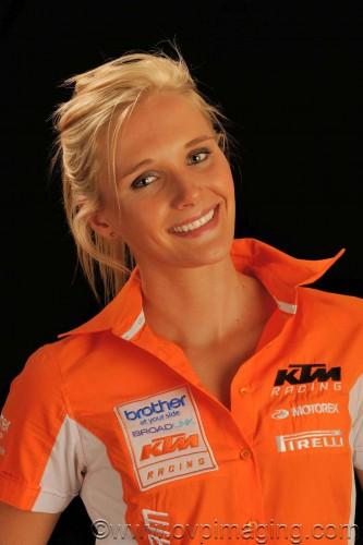 Kirsten Landman - KTM enduro racer