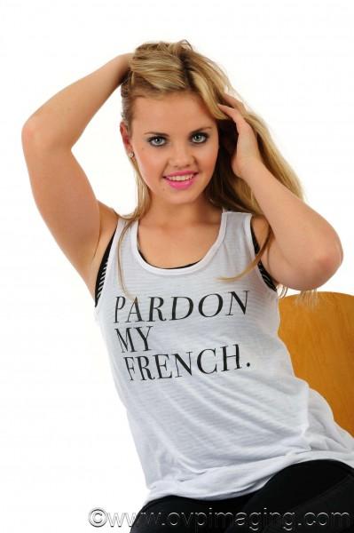 Model Michelle Laas