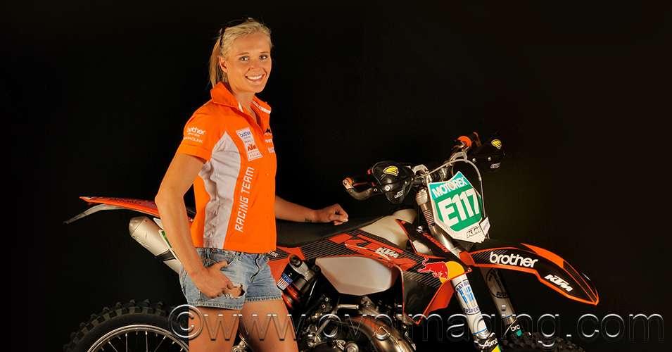 Kirsten Landman - lady racer