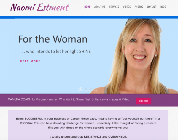 Naomi Estment's website
