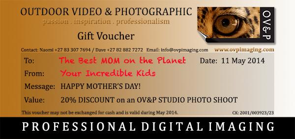 Mother's Day Gift Voucher Sample