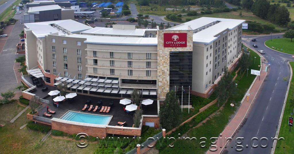 Aerial image of City Lodge Hotel Fourways