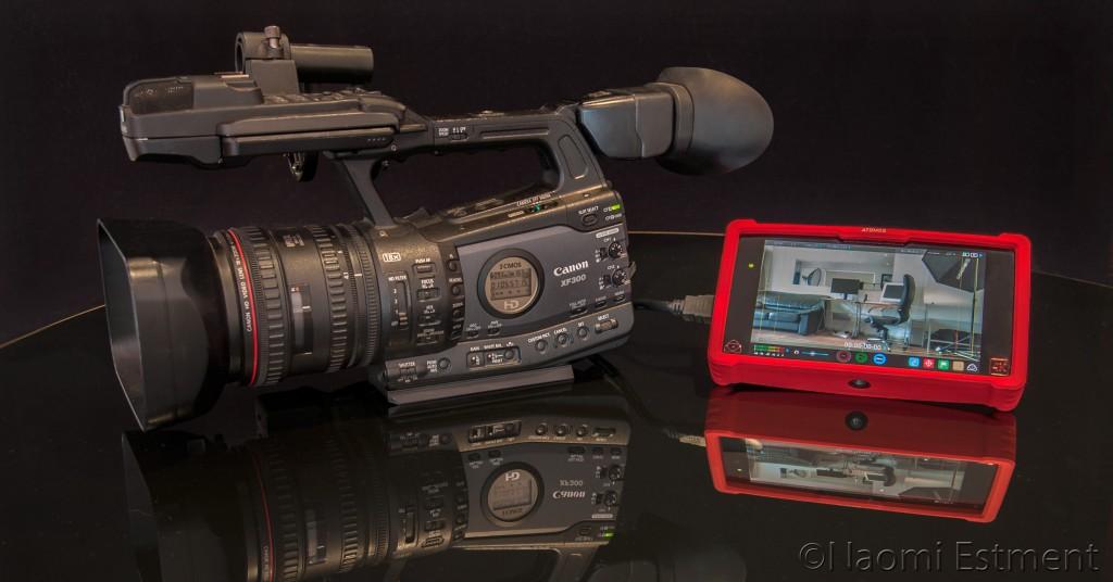 Canon XF300 with Ninja Assassin